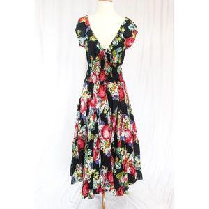56fe1848906 Chelsea   Theodore Dresses - Chelsea   Theodore Spicy Flamenco Peasant Dress